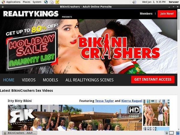 Bikinicrashers With Paypal Acc